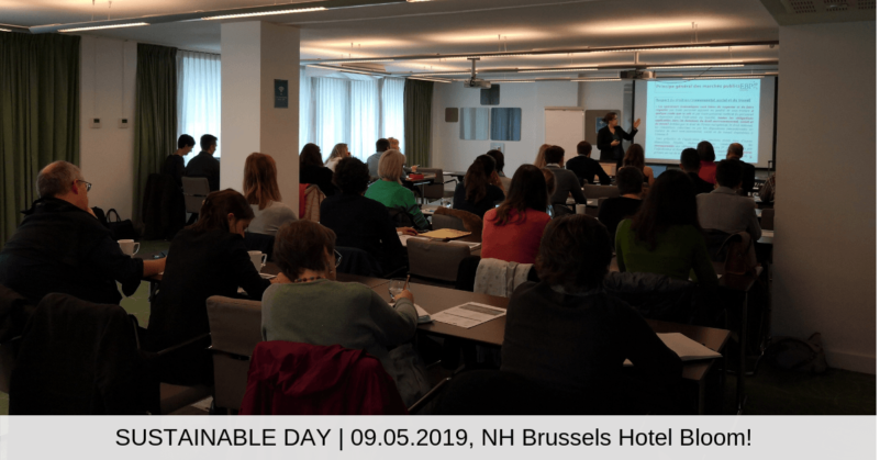 SUSTAINABLE DAY _ 09.05.2019, NH Brussels Hotel Bloom!